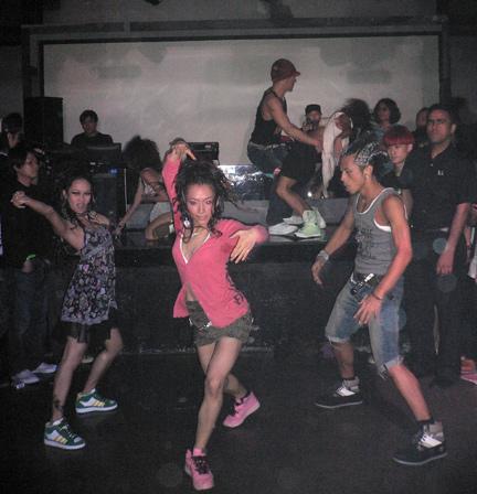 Gettin' ill on the dancefloor
