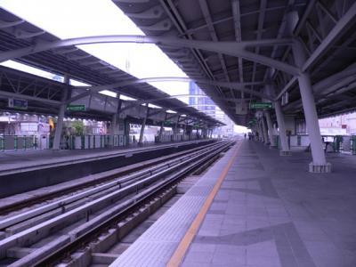 On the BTS Sky Train platform