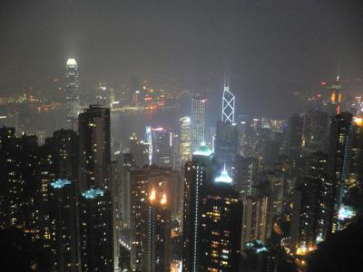 View of Central from The Peak Tower