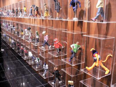 A section of the huge wall of figures.