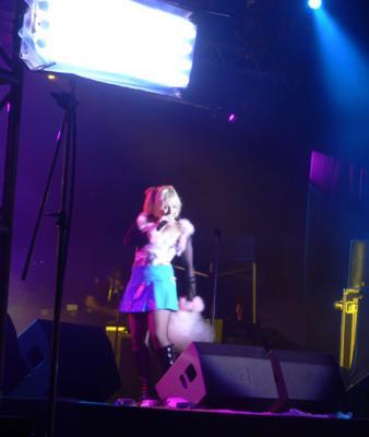 Princess Superstar performing
