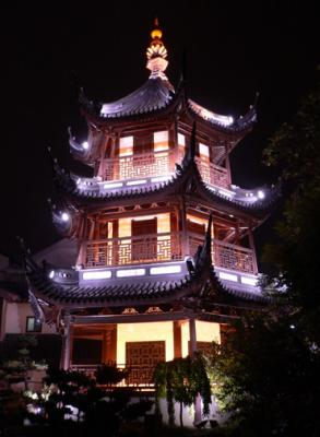 Pavillion in the Temple area