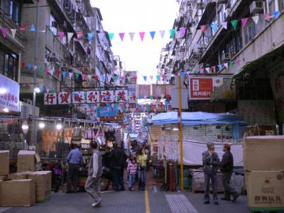 Beginning of the market, near Jordan Rd