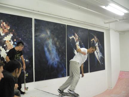 skateboard art hong kong hk