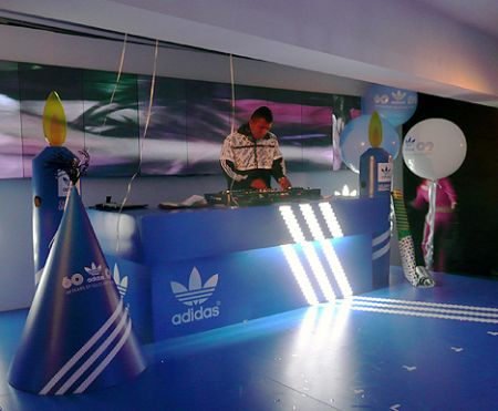 adidas dj booth hong kong hk