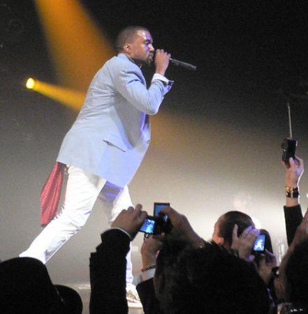 Kanye West hong kong lv party hk concert