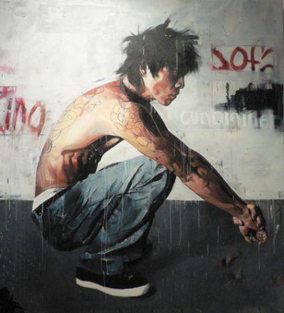 simon birch art hong kong hk painting painter