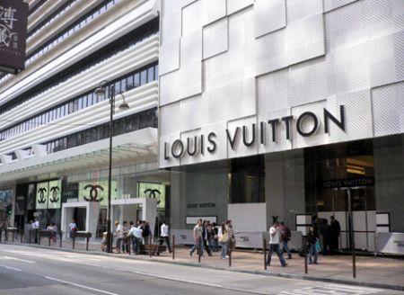 LV store hong kong hk china opening tst kowloon canton road