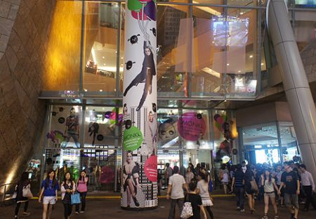 langham place shopping hk hong kong