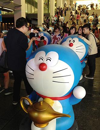 doraemon birthday anniversary 100 hong kong exhibit