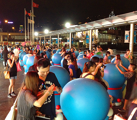 doraemon birthday exhibit hong kong harbour city hk tst
