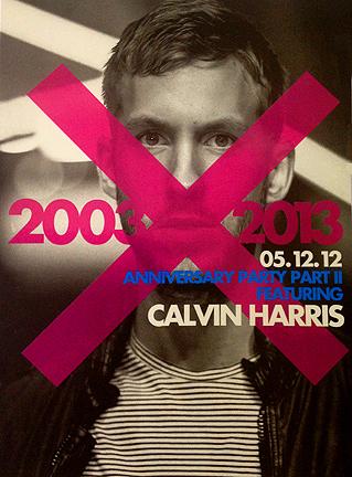 Calvin Harris dragon-i hong kong club hk anniversary