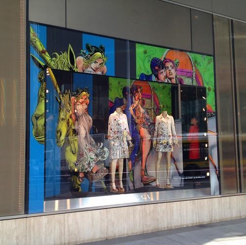 gucci store the landmark central hong kong hk china