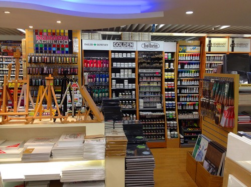 art supplies hk store hong kong shopping jam wanchai