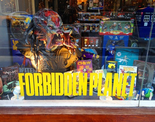 forbidden planet ny nyc comic store shop new york graphic novel