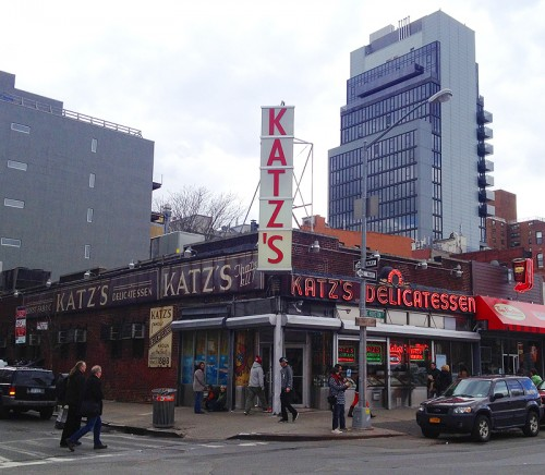 katz katzs deli new york ny city delicatessen