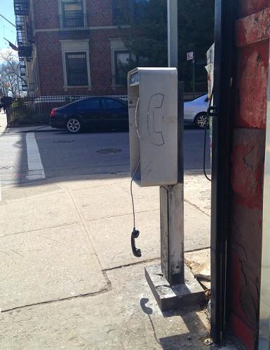 new york city pay phone nyc ny
