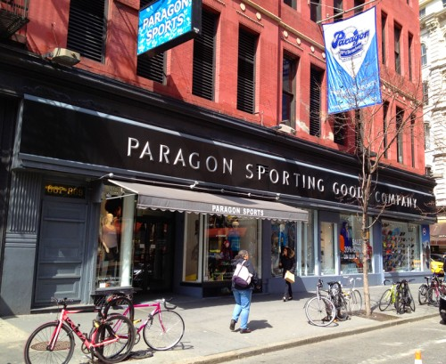 paragon sporting goods new york nyc sports equipment supplies ny