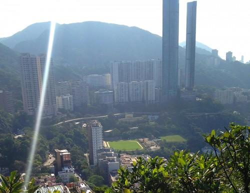 happy valley view hong kong hk park