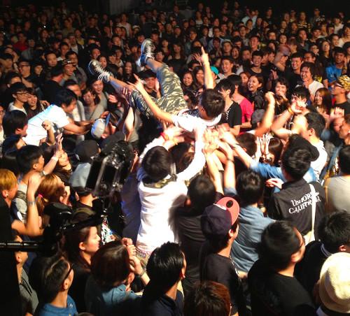 hardpack never be the same concert kitec hk