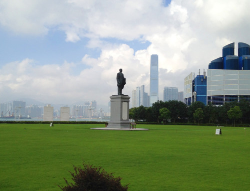 sun yat sen statue hk hong kong