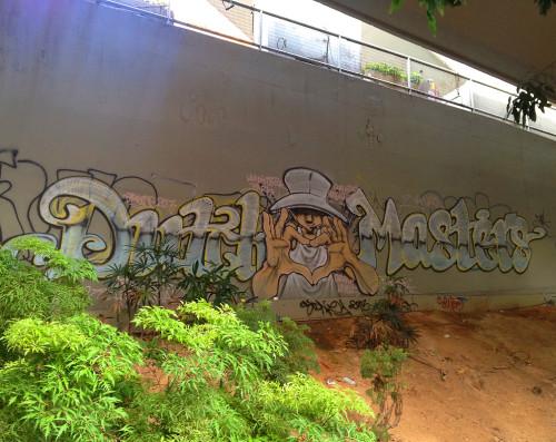 graffiti wall of fame mongkok argyle street hk
