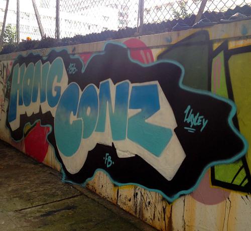graffiti hong kong street art alley mongkok