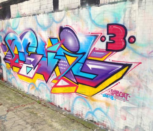 abstract wildstyle graffiti hong kong hk china