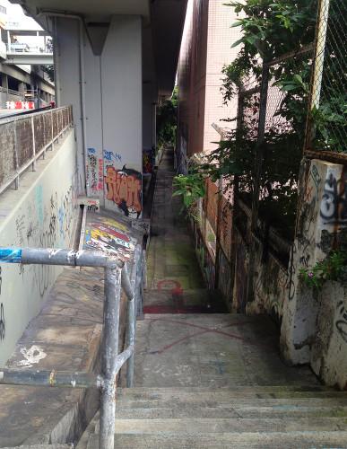 bute street luen wan street address graffiti wall of fame
