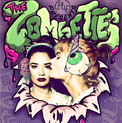 the zombettes ornusa cadness sanya smith girl dj flex saninja