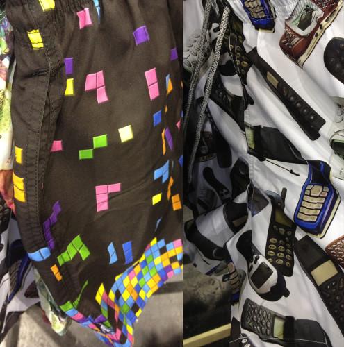 tetris shorts made in paradise swim wear hk hong kong brand suit