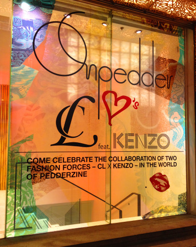 CL x Kenzo pedderzine hong kong on pedder hk