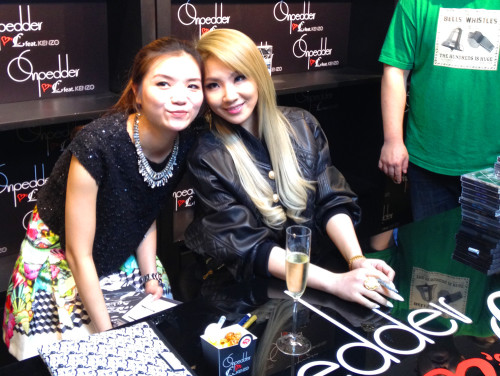 CL 2ne1 photo hk hong kong china