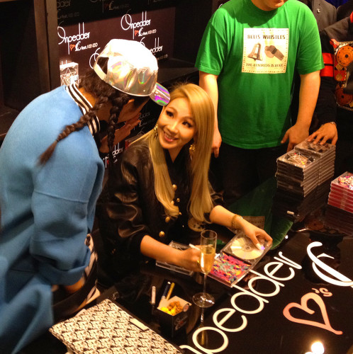 CL 2ne1 hong kong hk on pedder