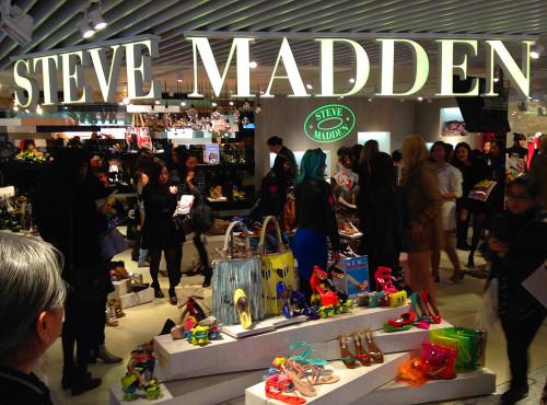 Steve Madden Betsey Johnson fashion show Hong Kong HK store