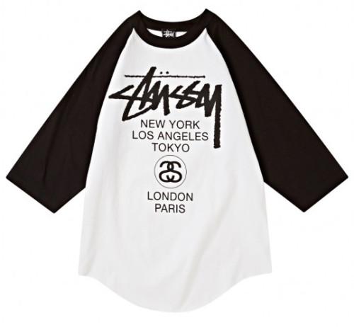 stussy double s logo shirt