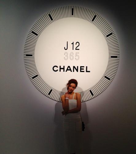 chanel j 12 watch janice man hong kong model