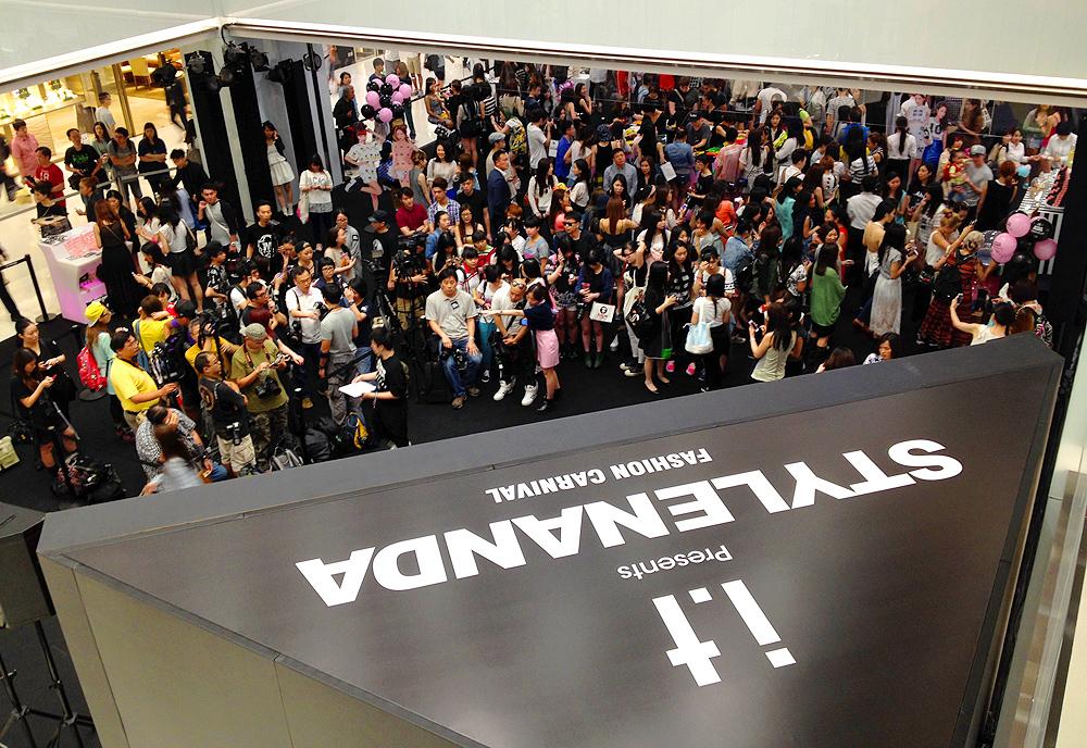stylenanda store opening hong kong hk shop