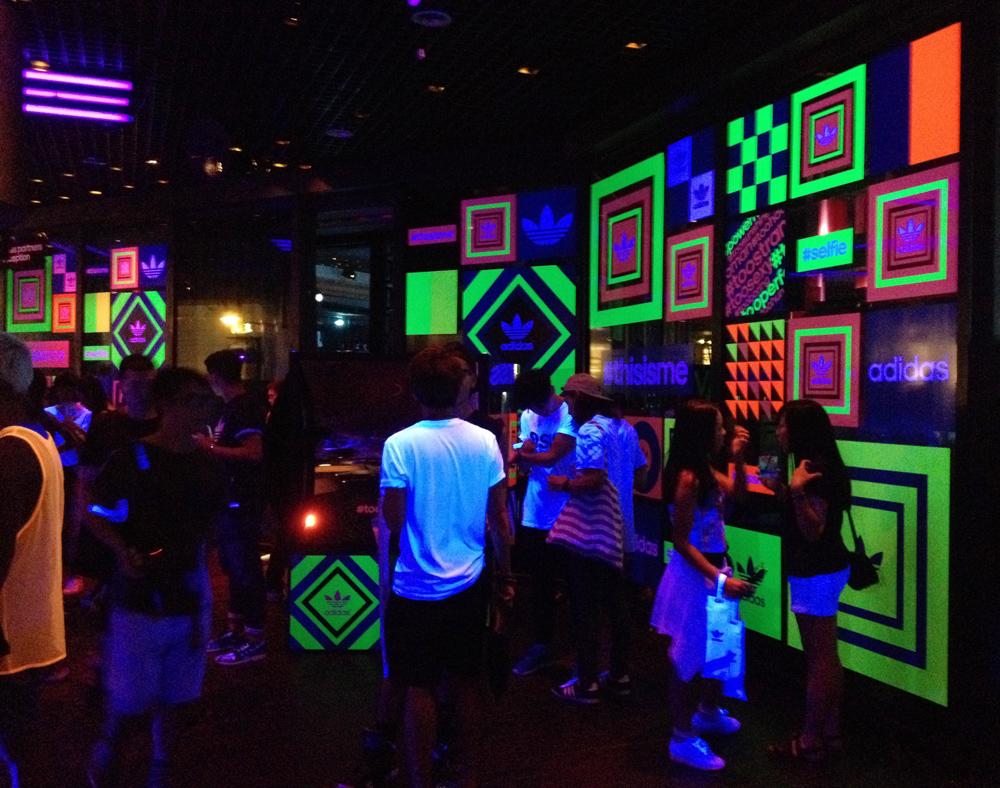 adidas hong kong hk party event selfie