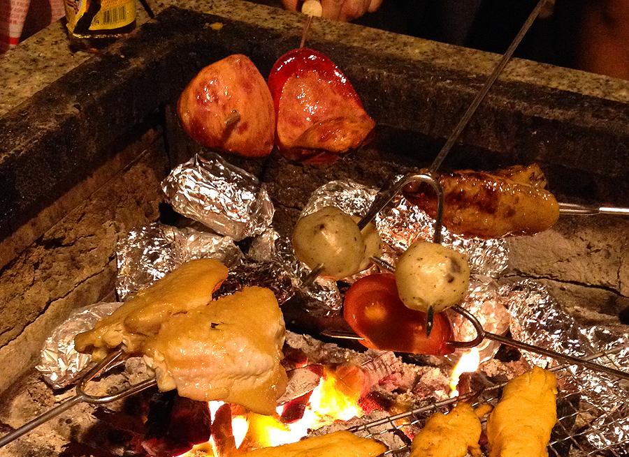 hk style bbq hong kong barbecue charcoal