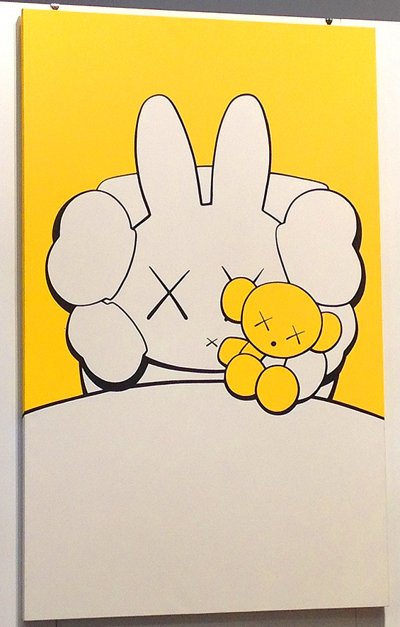 kaws painting price auction sothebys hong kong hk
