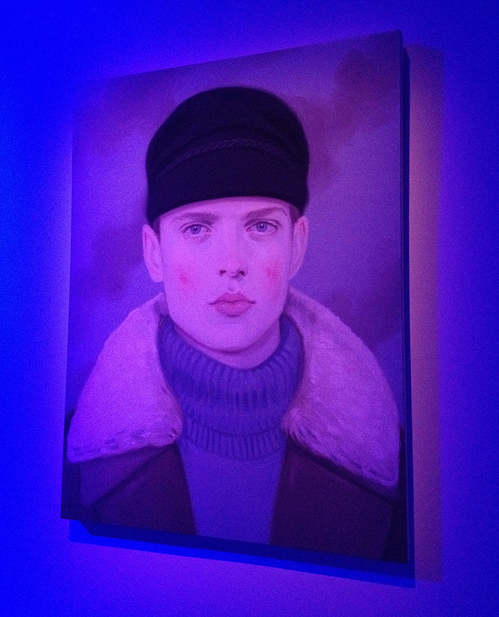 kris knight painting gucci canadian artist
