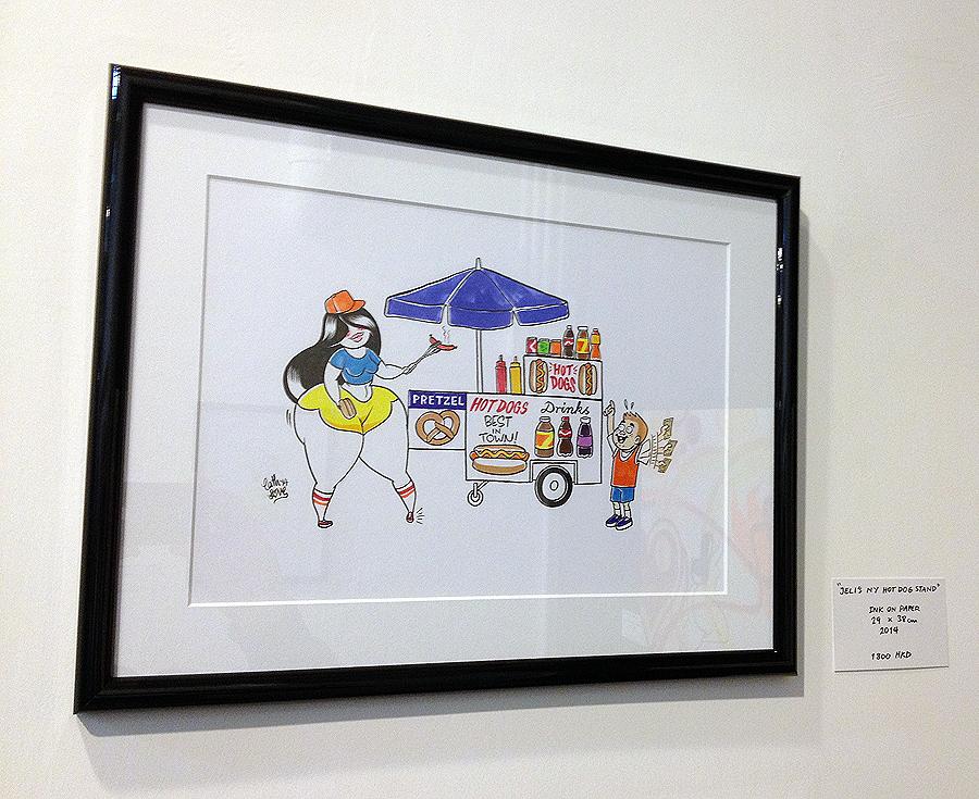 jeliboo cath love hong kong hk character drawing