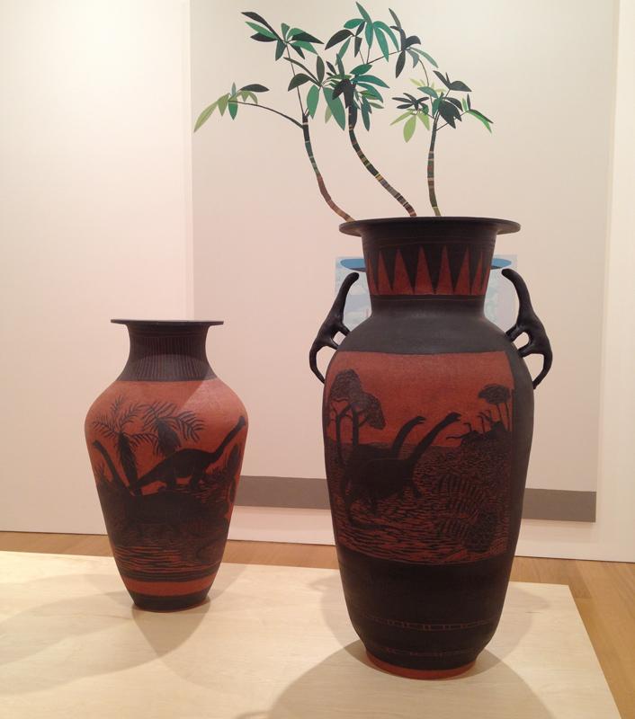 shio kusaka dinosaur vase pottery gagosian hong kong